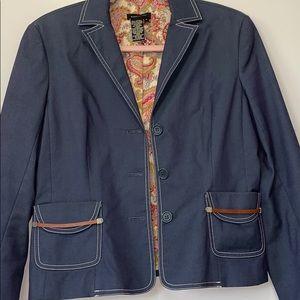 BCBG MaxAzria cropped blazer